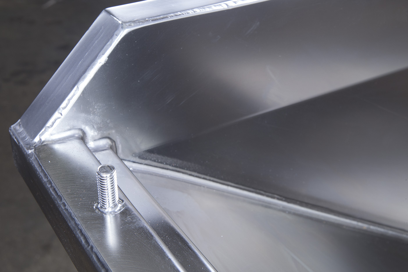 Difficult angles welded on pharmaceutical manufacturing equipment